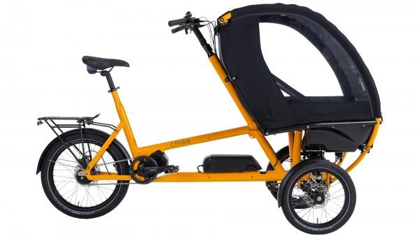 "CHIKE Elektro-Cargorad ""e-Kids"" Mod. 21 - gelb"