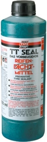 """TIP TOP Reifendichtmittel """"TT Seal""""; Beugt Pannen an Bereifungen vor, dichtet kleine Schäden selbstständig während der Fahrt ab, mit korrosionsschutz-"""