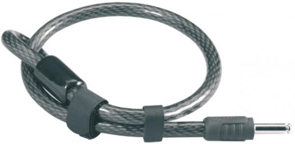 """AXA Einsteck-Kabel """"Plus""""; SB-verpackt, für AXA Rahmenschlösser Defender und Solid Plus, anthrazit; Kunststoffummantelung, korrosionsbeständig, AXA Sa"""