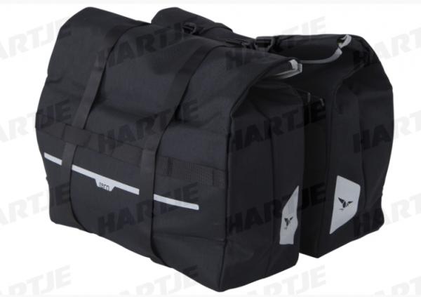 """TERN Tasche """"Cargo Hold 52 Panniers""""; Passend für Tern GSD Generation 2, Paar, 100l Gesamtvolumen; Faltbar, wasserabweisendes Material, zwei Fidlock-V"""