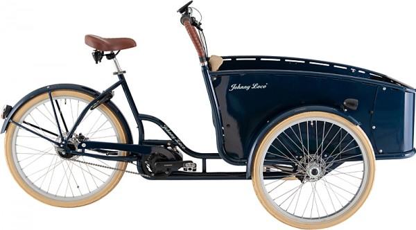 "E-Bike JOHNNY LOCO ""Brighton"" 24"" / 26"", RH 53 cm"