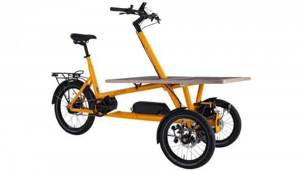 "CHIKE Elektro-Cargorad ""e-Cargo"" Mod. 21 - gelb"