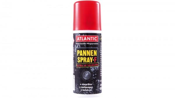 """ATLANTIC Pannenspray; Durch das hochwertige Dichtmittel sind platte Reifen nach einer Minute wieder fahrbereit., """"F"""" für Fahrradventil, Spraydose 50ml"""