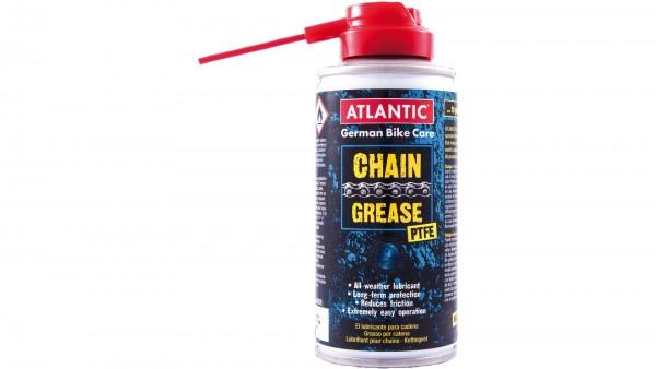 ATLANTIC Kettenfett; Mit PTFE (Teflon), ist für jedes Einsatzgebiet und trockene sowie nasse Verhältnisse geeignet. Bietet einen extrem hohen Verschle