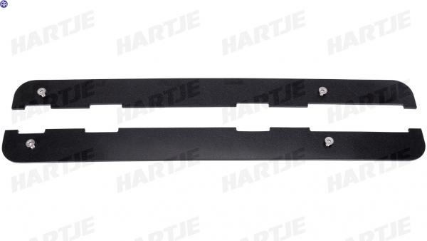 TERN Abdeckplatte; Kunststoffplatte zur Abdeckung der integrieren Lower Decks am GSD der Generation 2., schwarz, passend f. GSD Gen.2
