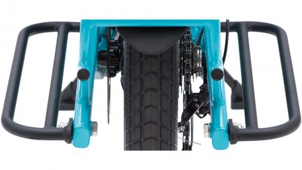 """TERN Packtaschenabstützung """"Sidekick Lower Deck""""; Passend für TERN GSD, Aluminium, mit Befestigungsmaterial. Auch als Trittfläche zum Abstellen der Fü"""